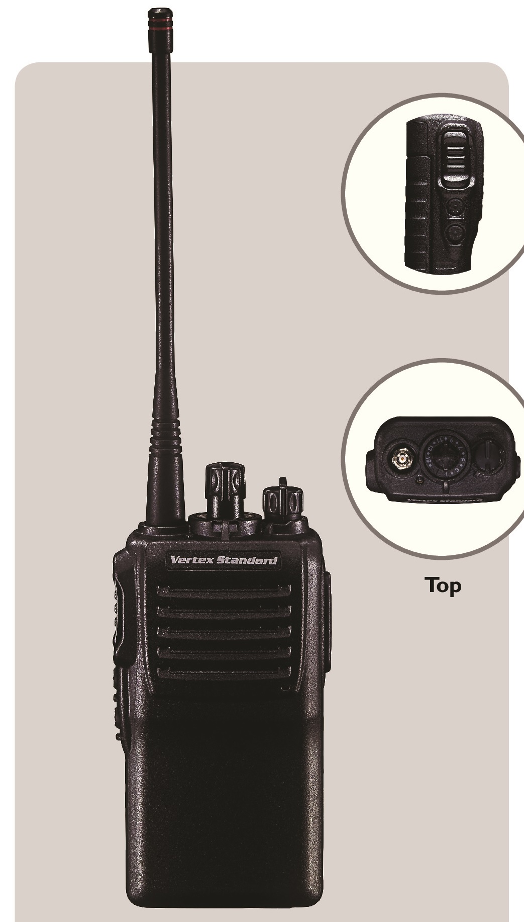 Vertex VX-230 Portable two way radio VHF UHF