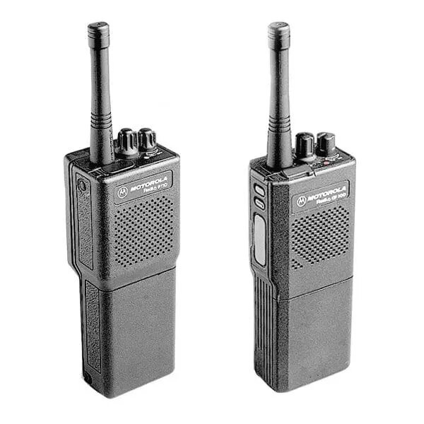 Motorola P110 Two way radio UHF or VHF and battery charger