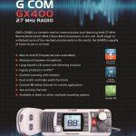 GX400 Marine skiboat radio 27Mhz, 29 Mhz