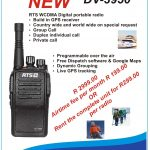 RTS DV3950 GPRS wifi long range two way radio