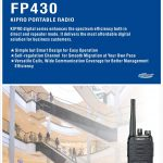Kirisun FP-430 Digital Analog UHF VHF Portable two way radio Pretoria