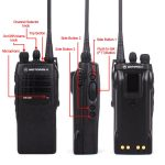 Motorola GP328 Portable two way radio VHF UHF