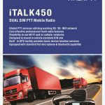 Kirisun iTalk450 Smart PTT two way radio with GPS Allcommunications Pretoria